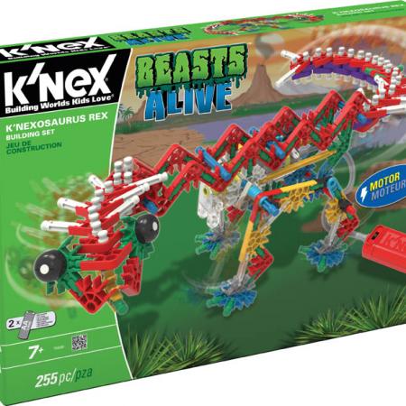 Set de construcción K´nexosaurus Rex - Knex-0