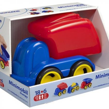 Minimobil Dumpy Camion reciclaje-0