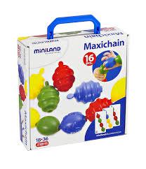 Juego Maxichain (16piezas) - Miniland-0