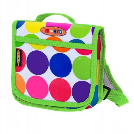 Mochila-Mini Micro diseño de bolas de colores -0