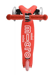 SCOOTER MICRO Mini deluxe rojo-0