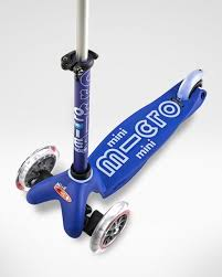 SCOOTER MICRO Mini deluxe azul-0