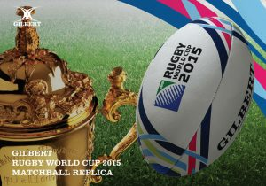 Balón Gilbert de Rugby World Cup 2015 Replica - Midi-0