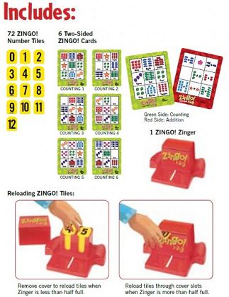 Zingo 1-2-3 - Thinkfun-8066