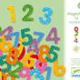Números magnéticos (38 números) - Djeco-0