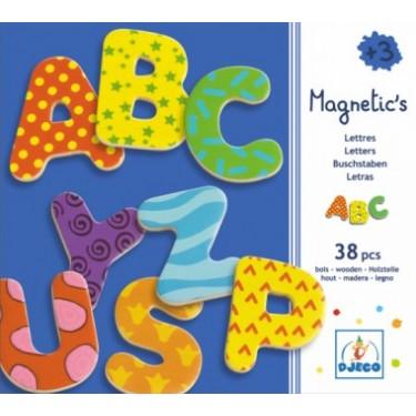 Letras magnéticas grandes (38 letras) - Djeco-2526