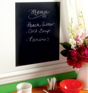 Pizarra Chalkboard negro - Peel and Stick-0