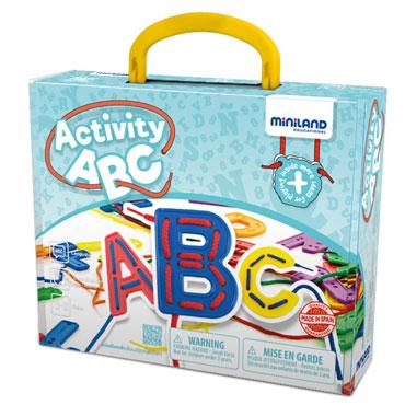 Juego Activity ABC Miniland-0