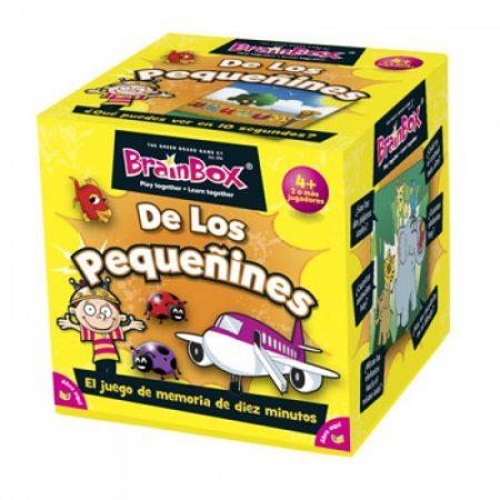 Juegos de memoria: De los Pequeñines - BRAINBOX-0
