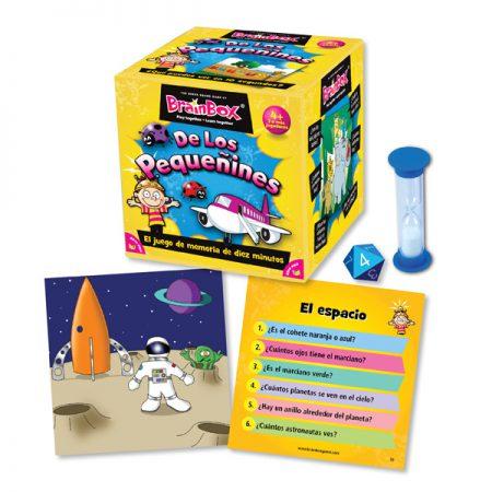 Juegos de memoria: De los Pequeñines - BRAINBOX-3529