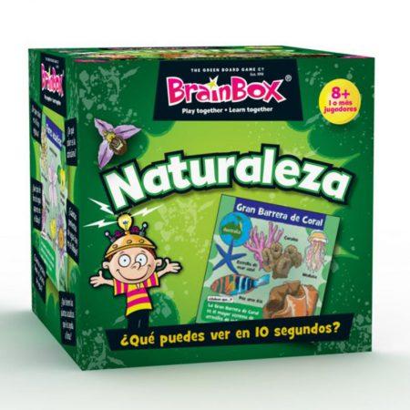 Juegos de memoria: Naturaleza - BRAINBOX-0