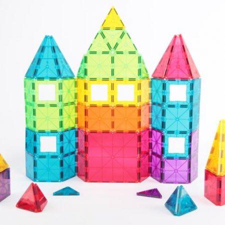 Imanix 110 piezas nuevos colores + 10 clicks de regalo – Braintoys