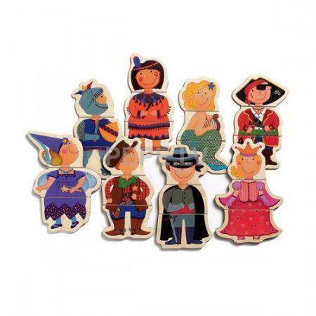 Juego magnético niños disfrazados - Djeco-3875