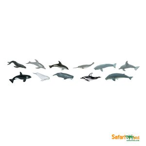 Ballenas y Delfines - animal SAFARI LTD-0