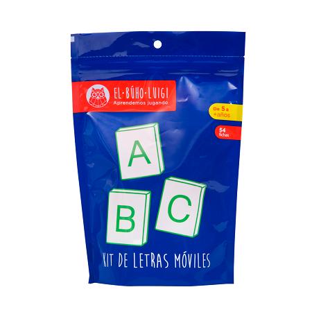 Kit de Letras Móviles 2 - El Buho Luigi-6459