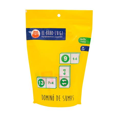 Domino de Sumas - El Buho Luigi-6449