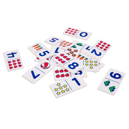 Domino de Números - El Buho Luigi-0