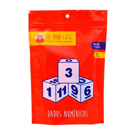 Dados Numéricos - El Buho Luigi-6445