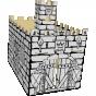 Castillo para armar y colorear - kartoon-6195