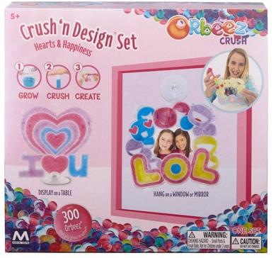 Crush'n Design Corazones -Orbeez-6848