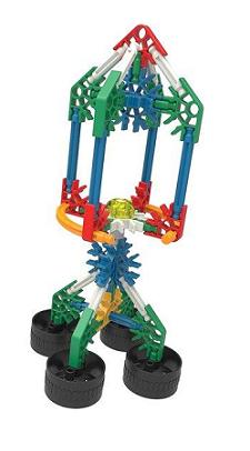Set de construcción con 10 modelos - KNEX-7949