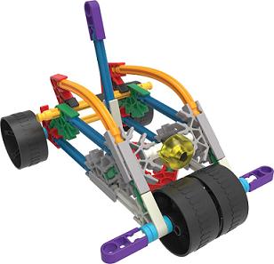 Set de construcción con 10 modelos - KNEX-7947