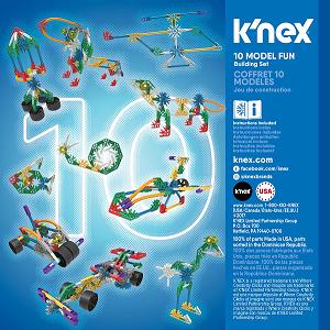 Set de construcción con 10 modelos - KNEX-7941