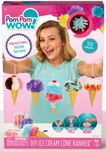 DIY Ice Cream Banner Set - PomPomWow-0