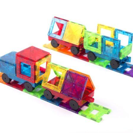 Set de Trenes con piezas magnéticas – Braintoys