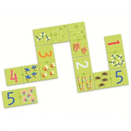 """Juego de mesa """"Domino 1,2,3"""" – DJECO"""