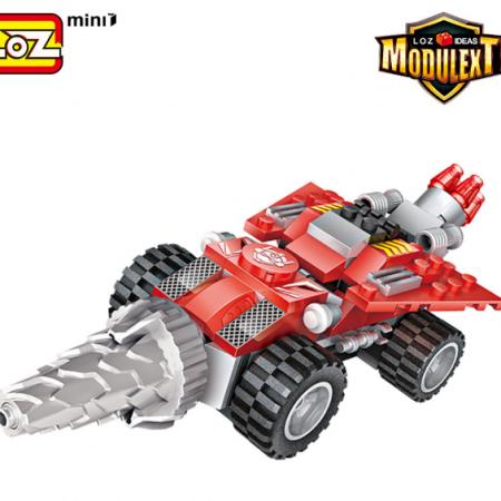 Robot 3 en 1 rojo (Taladro) – LOZ