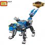 Robot 3 en 1 Azul (Iron Shine) – LOZ