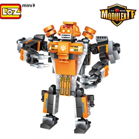 Robot 3 en 1 Naranja (Mega Lift) – LOZ