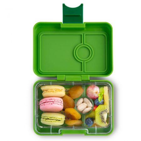 Lonchera mini snack Avocado Green de 3 divisiones – Yumbox