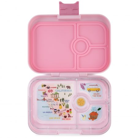 Lonchera Hollywood Pink de 4 divisiones – Yumbox