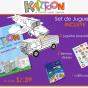 Avion para armar y colorear  – kartoon