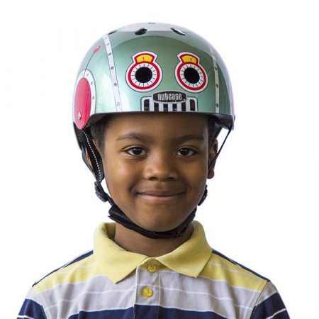 Casco Nutcase Little Tin Robot XS