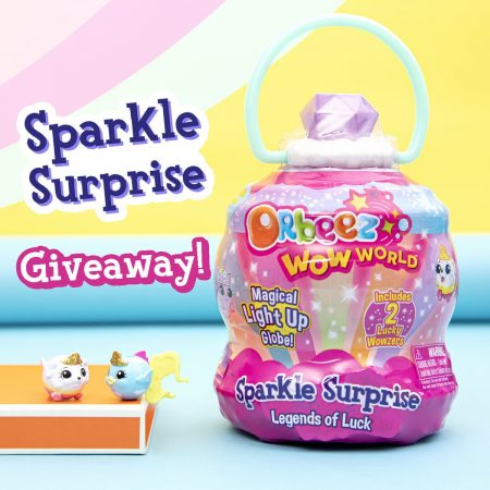 Sparkle Surprise Legends of Luck Purple – Orbeez