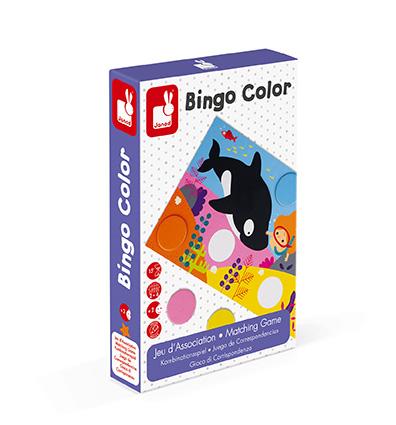 Bingo Color Juego de correspondencia – Janod