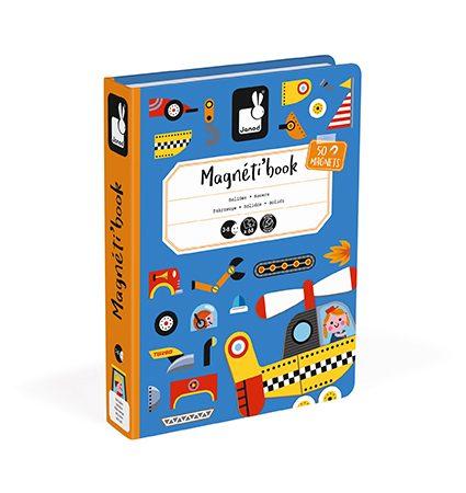 Libro magnético Bólidos – Janod