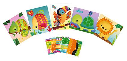 Manualidad Tarjetas con stickers – Janod