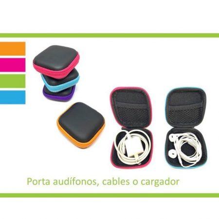 Porta audífonos color fucsia – Be cool