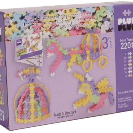 Cuento de hadas 3 en 1 (220 piezas) – Plus-Plus