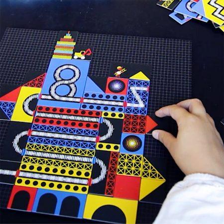 Construcción Kinoptik La ciudad (123 piezas) – Djeco