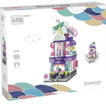 Mini Bloques para la construcción de una Tienda de ropa – LOZ