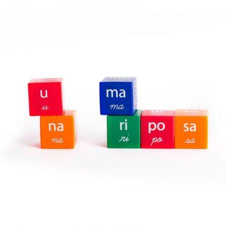 Cubos silábicos – El buho Luigi