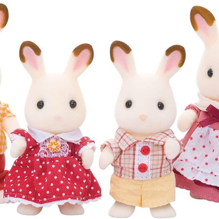 Familia Chocolate Rabbit – Sylvanian Families