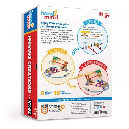 Moving creations with Knex – Hand2mind