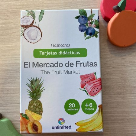 Flashcards Mercado de Frutas – Unlimited