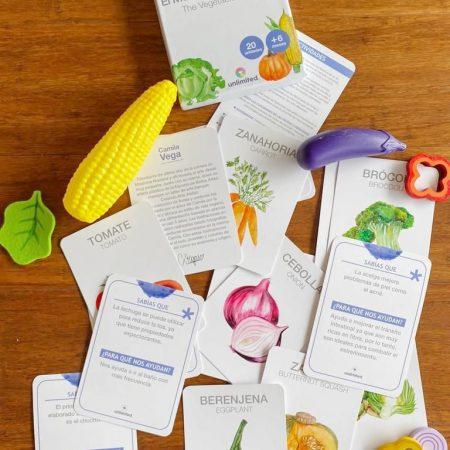 Flashcards Mercado de Verduras – Unlimited